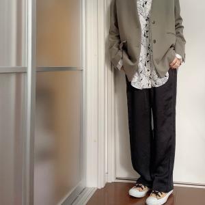 ビッグサイズのシャツこそ、着まわし力バツグン
