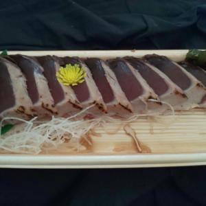 【夕飯】カツオのたたき