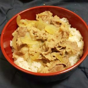 【料理】牛バラ肉丼