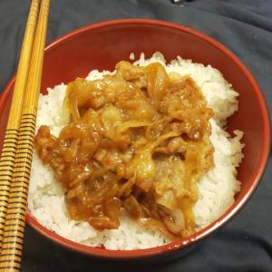 【料理】レモン魯肉飯