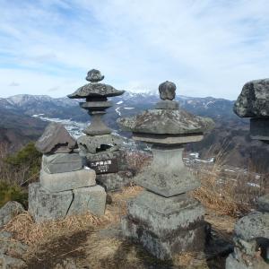 戸神山(33回目)スカイツリーの標識と牛寅神社