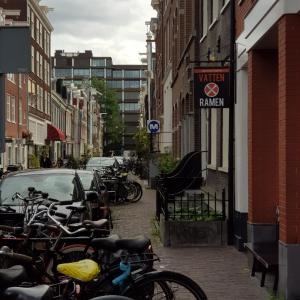 アムステルダムでラーメンに舌鼓
