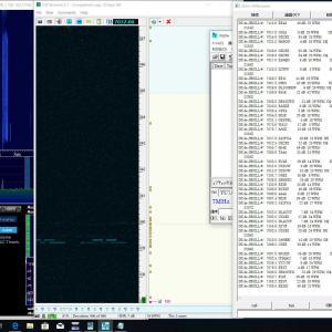 IC-7610とCW Skimmerでの調査