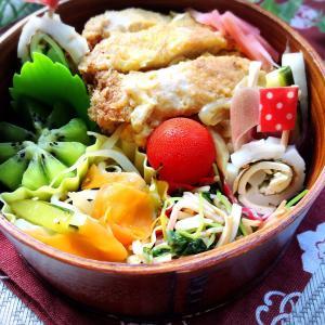 6/5曲げわっぱ「カツ丼弁当」と冷感ルームウェア
