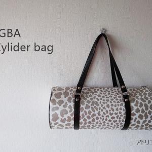 JGBAのシリンダーバッグ