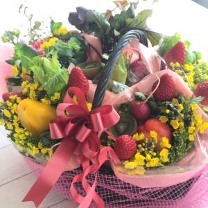 作り手と買い手をつなぐ野菜のブーケ。滋賀草津パン教室。