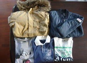 リサイクルショップ108円の子供服