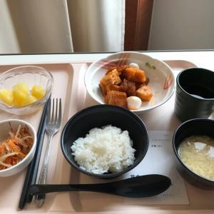 コロコロぽん太と、病院食