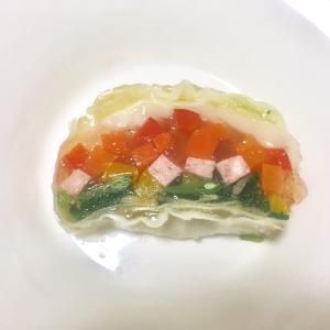 【レシピ】ワインのアテに、彩り豊な「野菜のテリーヌ」を作ってみる。