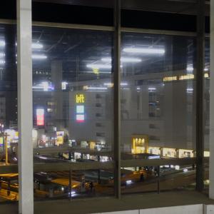 仙台駅のホームで時間潰ししてました。