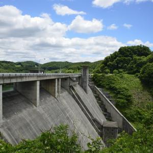 綱取ダムに行ってみました。