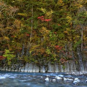 八幡平松川渓谷へ天気がいい日に行きました。