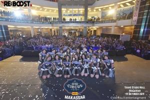 JKT48 サーカスパート4 Makassar By Team K3
