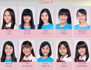 JKT48 正規メンバー昇格枠は10