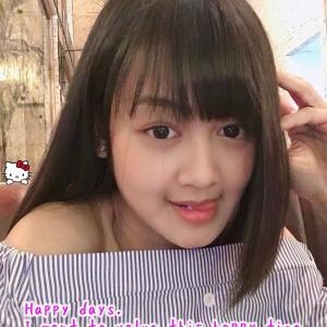 JKT48 ディアニ&ジュリの写真にコラージュ