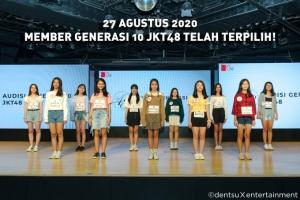 JKT48 第10期オーディション合格者&川本紗矢さん卒業