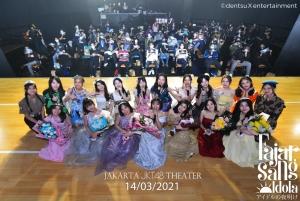 JKT48 チームJ「アイドルの夜明け」公演千秋楽