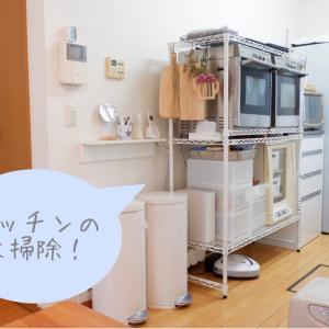 キッチン大物の処分&シンク反対側の大掃除。