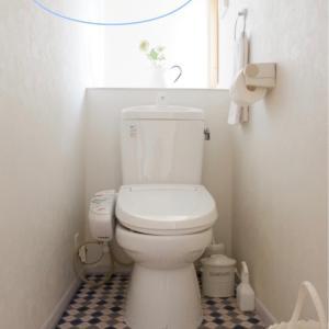 【100均】ホワイトマステで、トイレをちょっとリメイク。