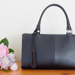 こんなバッグを探していた!普段にも使えるブラックフォーマルバッグ。
