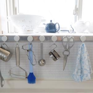 【キッチン】やっぱり!マグネットフック&アイテム変更に付きカスタマイズ。