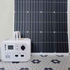 【防災】安心を買った!ソーラーパネル×ポータブルバッテリーを充電してみた