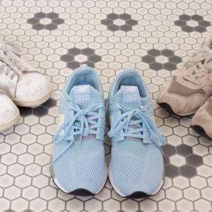 スニーカーは3足!履き倒した靴&おろした靴