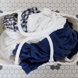 洗濯カゴに見えない!シンプル×持ちやすい「ランドリーバスケット」