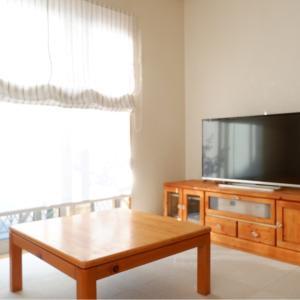 【DIY】古いテレビ台を、サンダー掛けできれいに。