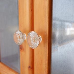簡単DIY!100均セリアですりガラス風。