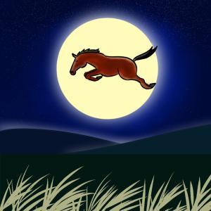 十五夜お月様。