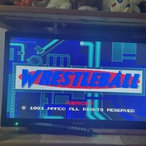 (全ソフトクリア挑戦)メガドライブミニ レッスルボール 22作品目 大苦戦の末・・・