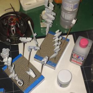 HGBFライトニングガンダム&HGBCライトニングバックウェポンシステム MK-II その2