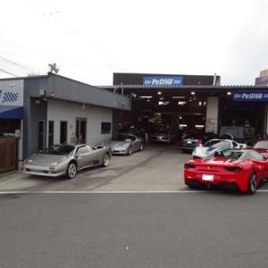珍しい車両が入庫したので、「パシャ」と撮りました。