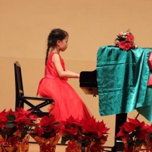 ムスメの初めてのピアノの発表会!