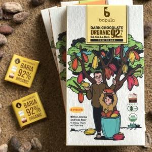 6歳のムスメも食べたBapulaの92%のハイカカオチョコレート!