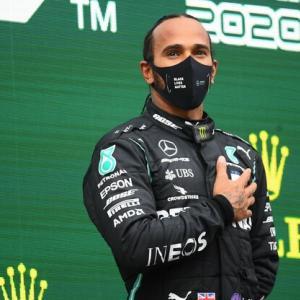 2020年F1第14戦トルコGP決勝はメルセデスのルイス・ハミルトンが優勝!王者獲得!