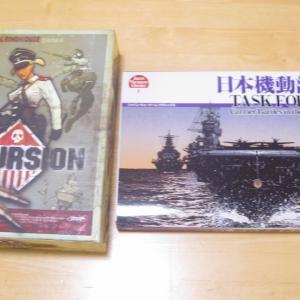 自宅ゲーム会236 前半 日本機動部隊 他