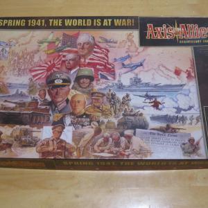 自宅ゲーム会308 中盤 Axis&Allies:Anniversary Edition