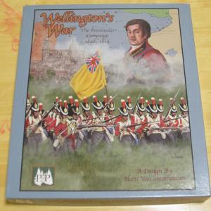 自宅ゲーム会347 前半 Wellington's War