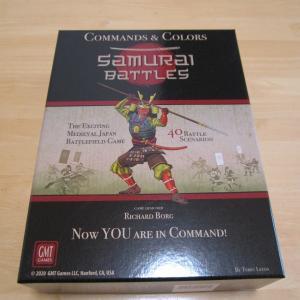 自宅ゲーム会354 前半 Commands&Colors:Samurai Battles