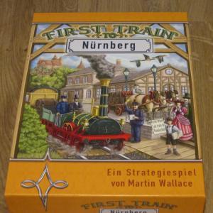 自宅ゲーム会222 前半 ニュルンベルクへの始発列車