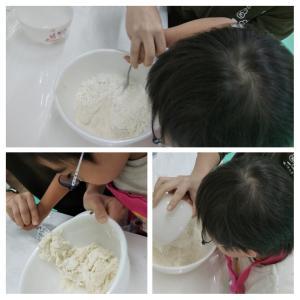 パン作り(OT)。