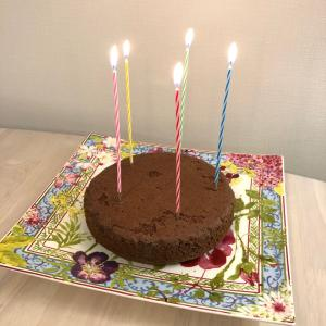 パパの誕生日お祝い