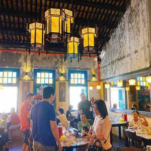 中華街でお粥さんと、ちょこっと飲茶の朝ごはん。
