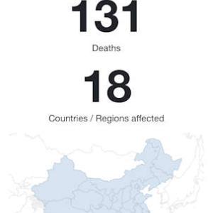 一目で、世界中の新型コロナウィルスの罹患率と関連ニュースが分かる便利サイト。