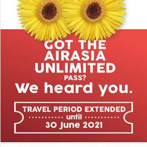 飛行機乗るのも命がけな話と、エアアジアの無制限Passの期間延長!