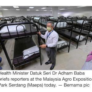 浮かれポンチじゃいられない、マレーシアのコロナ事情(医療崩壊?)②