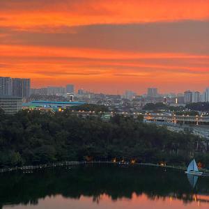 Bukit Batu Kumbangからの絶景は、セランゴール州とは思えない~!