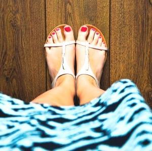 きれいで健康的な足もとの基本のき。